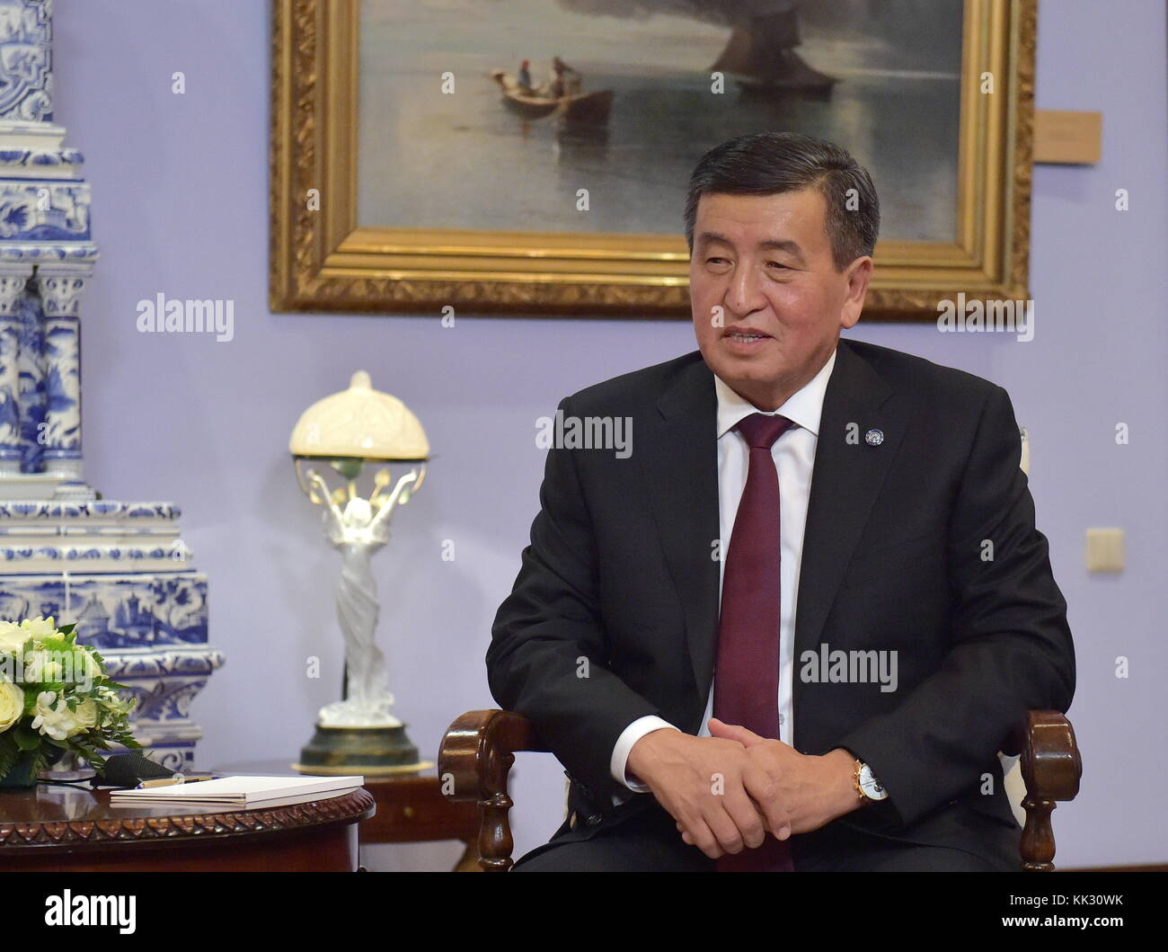 President Sooronbay Jeenbekov 33
