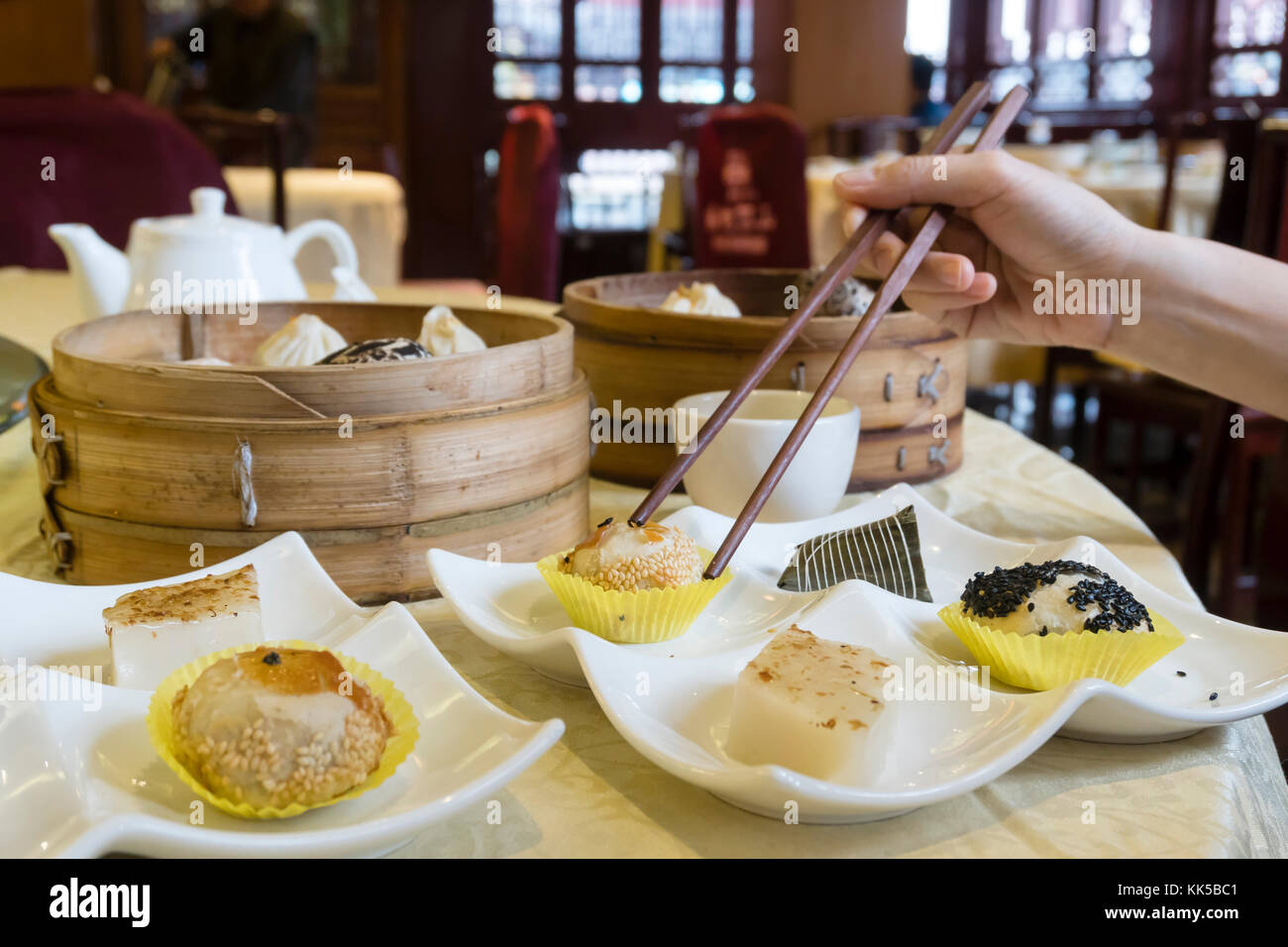 Dimsum stock photos dimsum stock images alamy for Authentic cantonese cuisine
