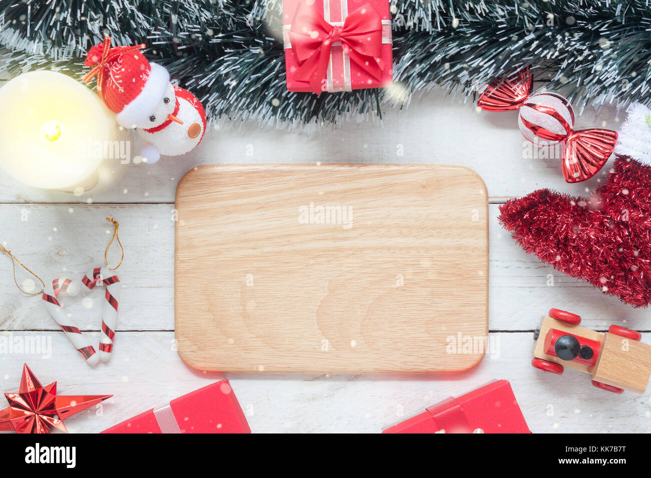 c8alamycomcompkk7b7tabove view aerial image o - Essential Christmas Decorations