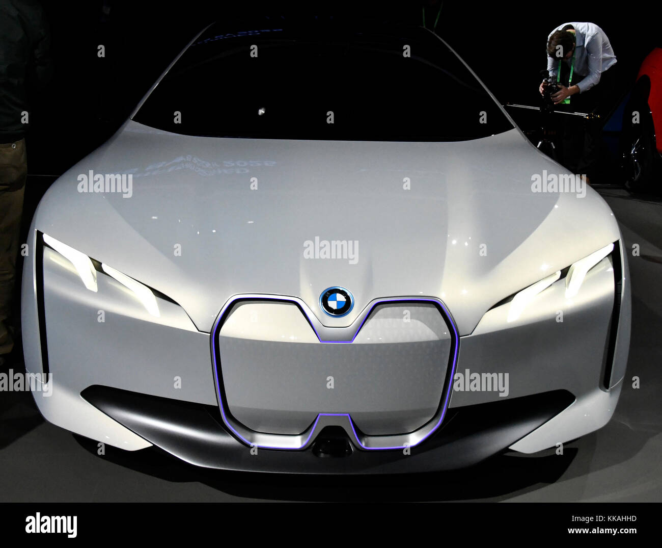 Los Angeles CA Th Nov The BMWi Vision Dynamics Concept Car - Car show los angeles ca