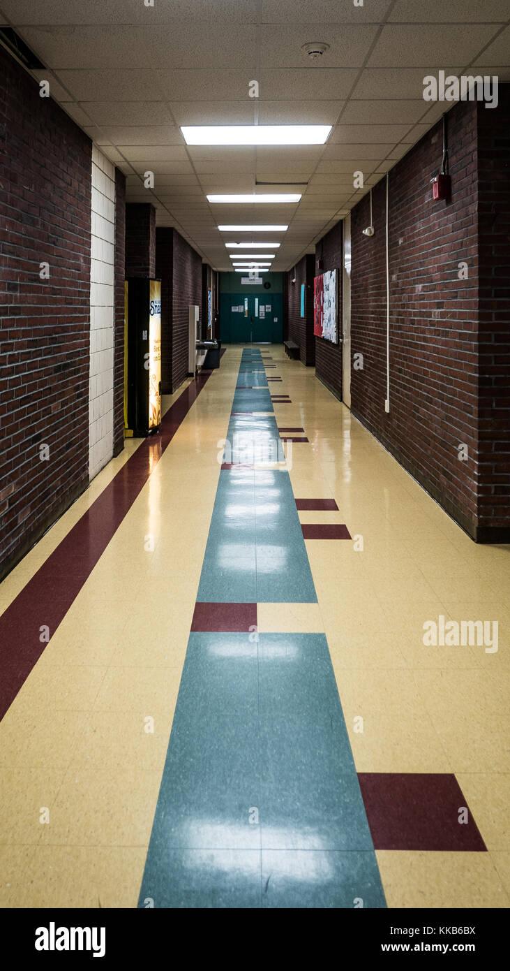 interior of urban school in portland maine stock photo 166818286