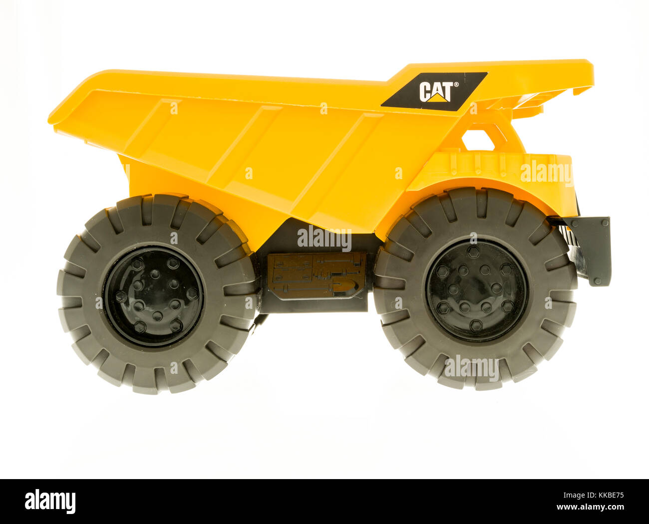 Toys For Trucks Wisconsin : Cat dump truck stock photos images