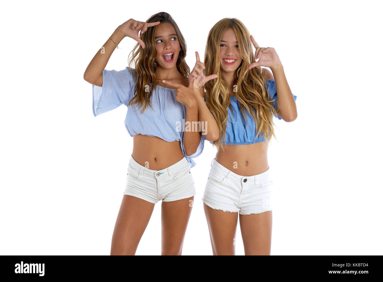Girl Fingers Her Friend