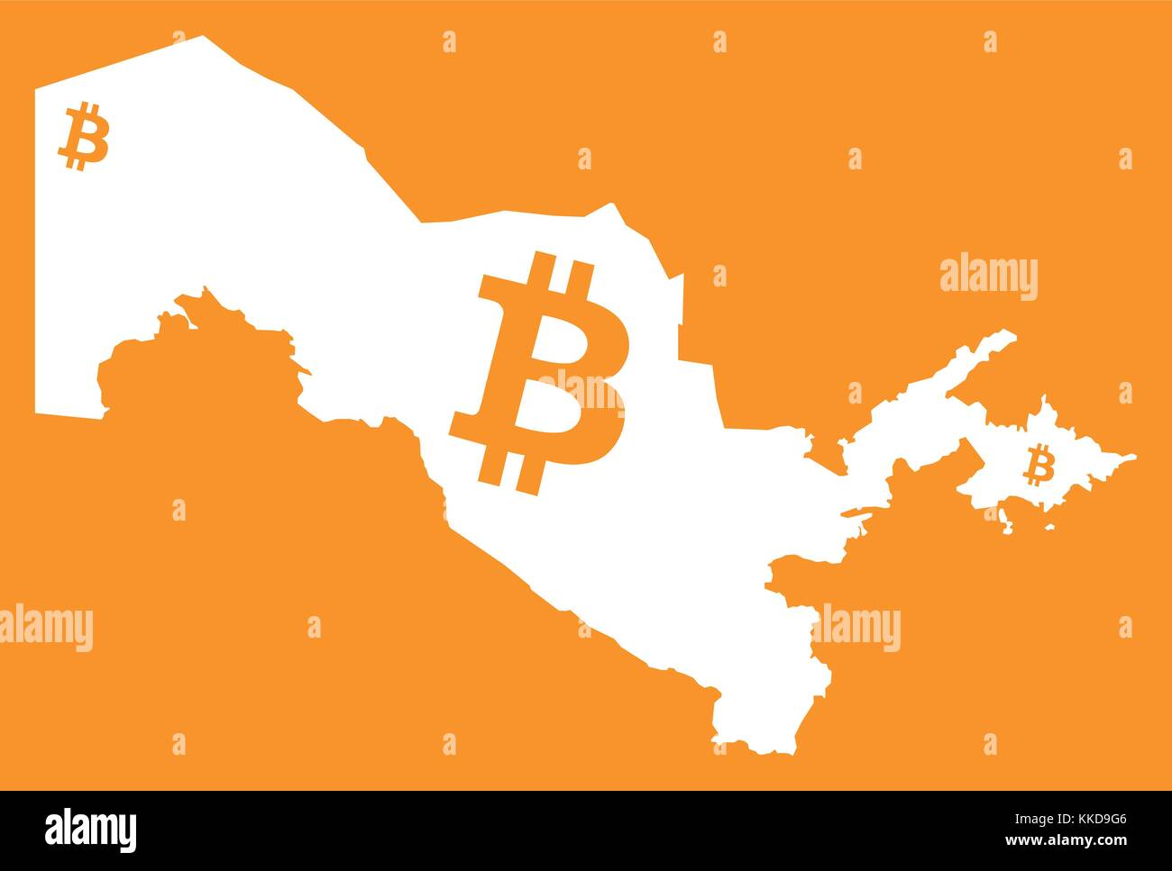 Uzbekistan map with bitcoin crypto currency symbol illustration uzbekistan map with bitcoin crypto currency symbol illustration buycottarizona