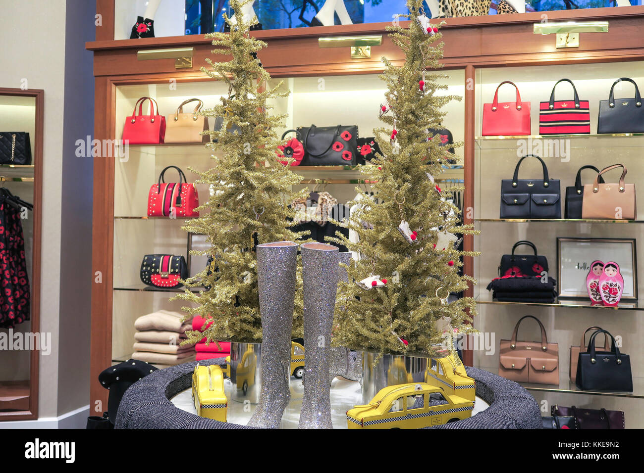 Kate Spade Store in Rockefeller Plaza, NYC, USA Stock Photo ...