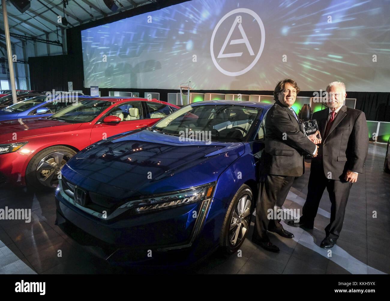Los Angeles California USA Th Nov Hondas Steven Center - Honda center car show