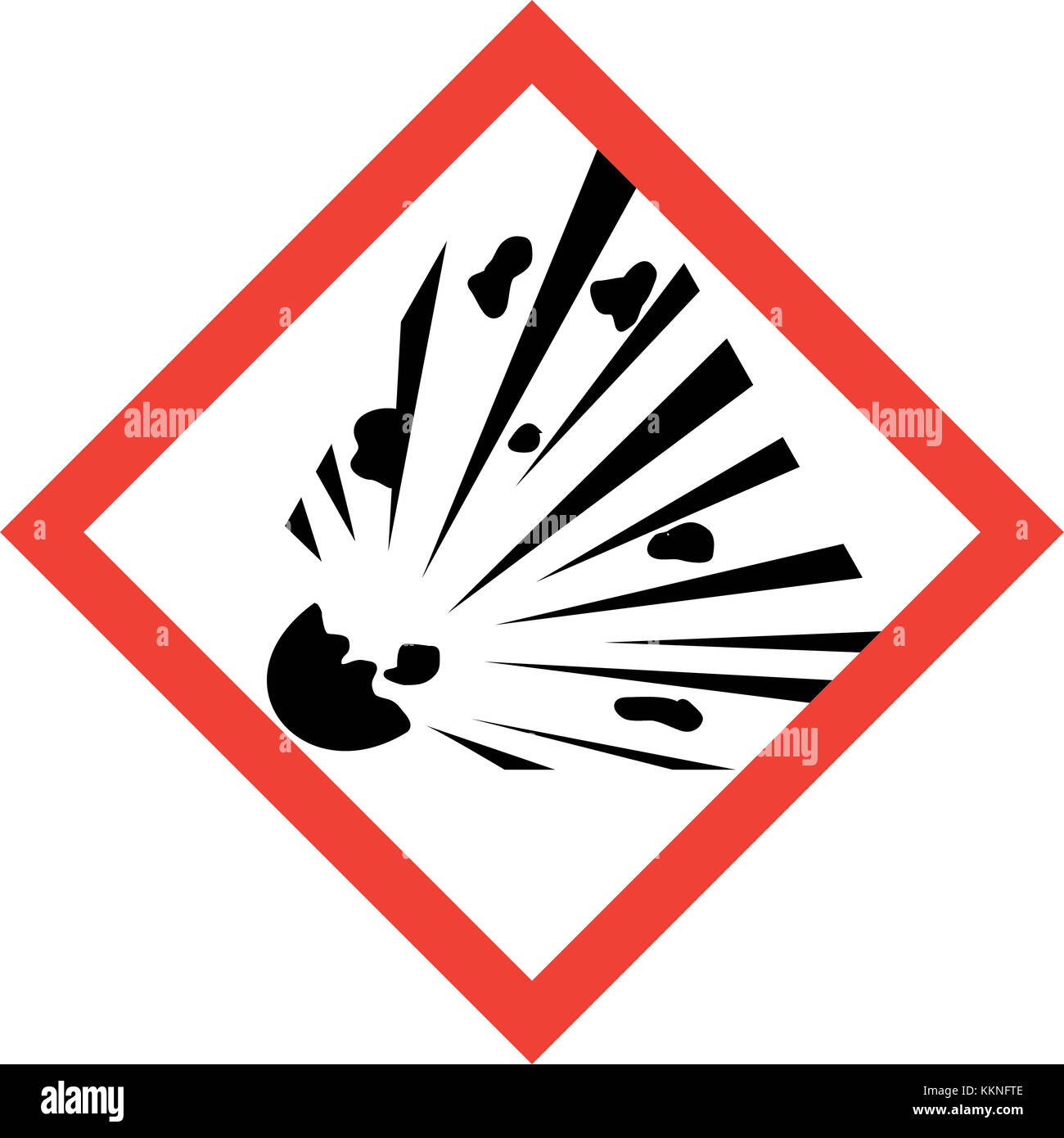 explosive warning label stock photos amp explosive warning
