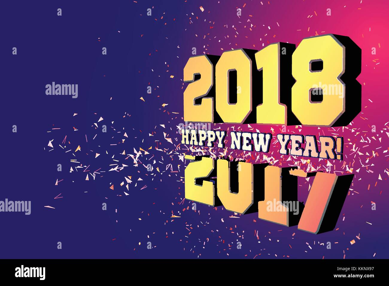 Official congratulations on the New Year 2018 14