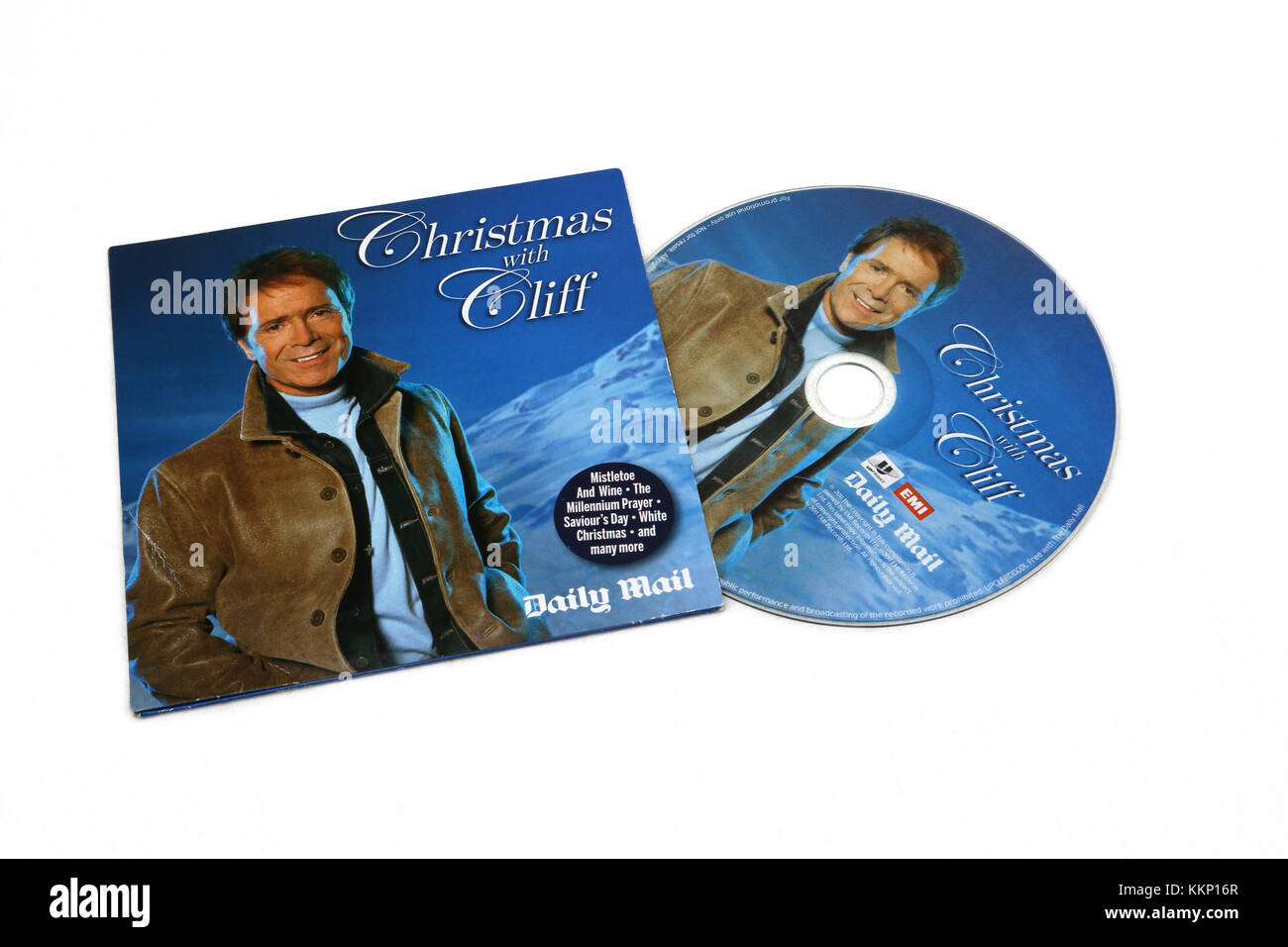 Christmas With Cliff - Cliff Richard CD Stock Photo: 167055695 - Alamy