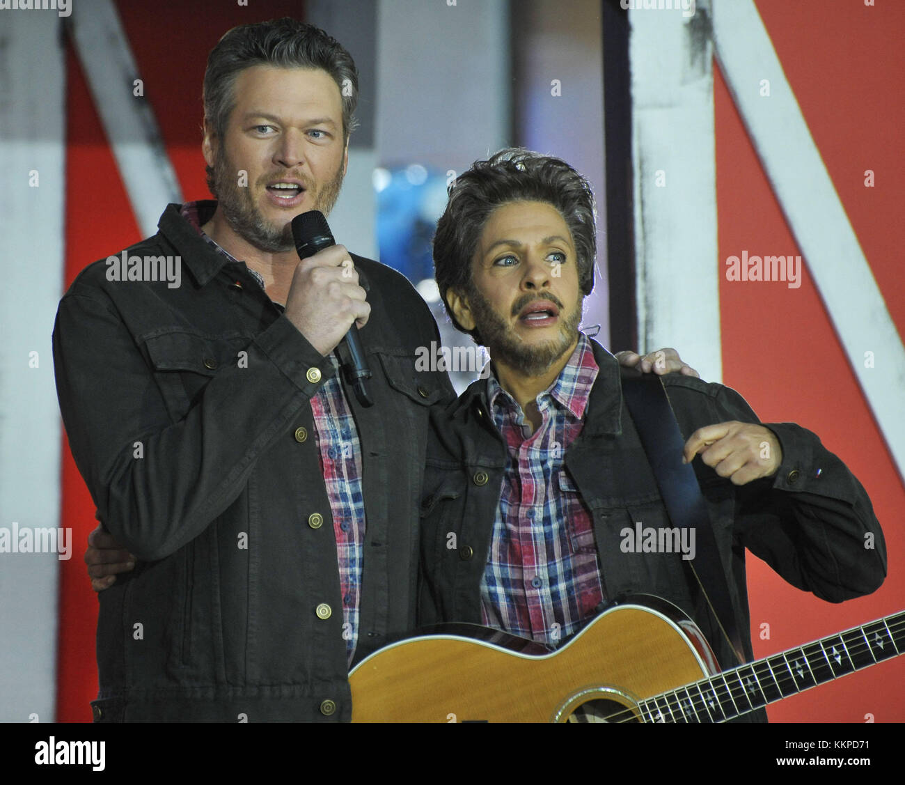 The Today Show Halloween in NYC Featuring: Blake Shelton, Hoda ...