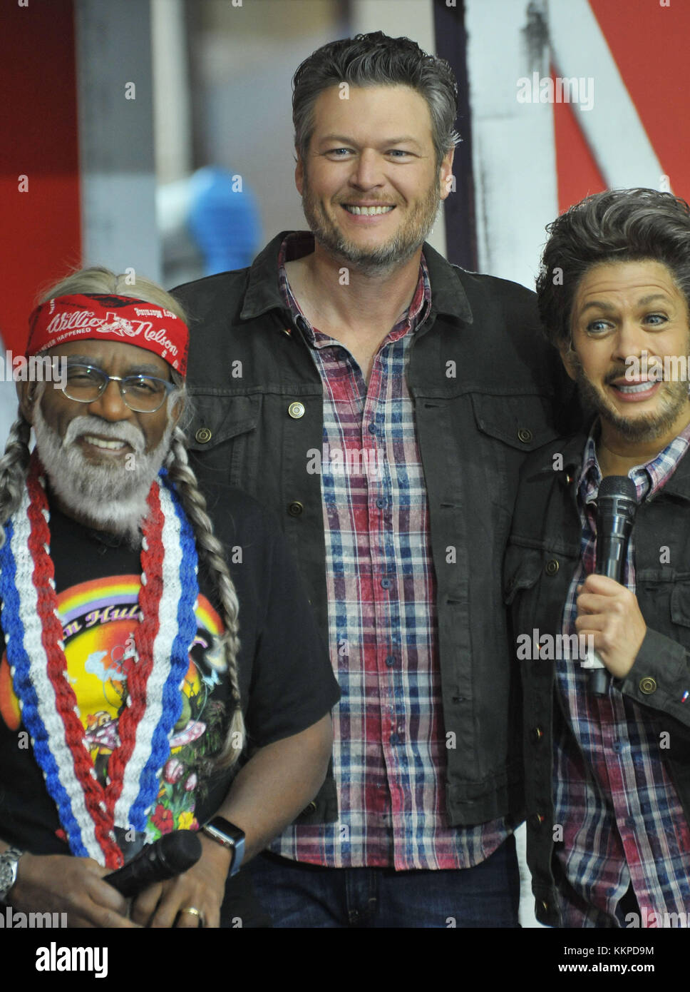 The Today Show Halloween in NYC Featuring: Al Roker, Blake Shelton ...