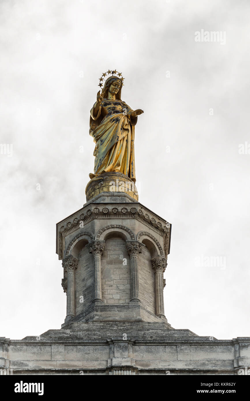 Statue Mary France Stock Photos Amp Statue Mary France Stock