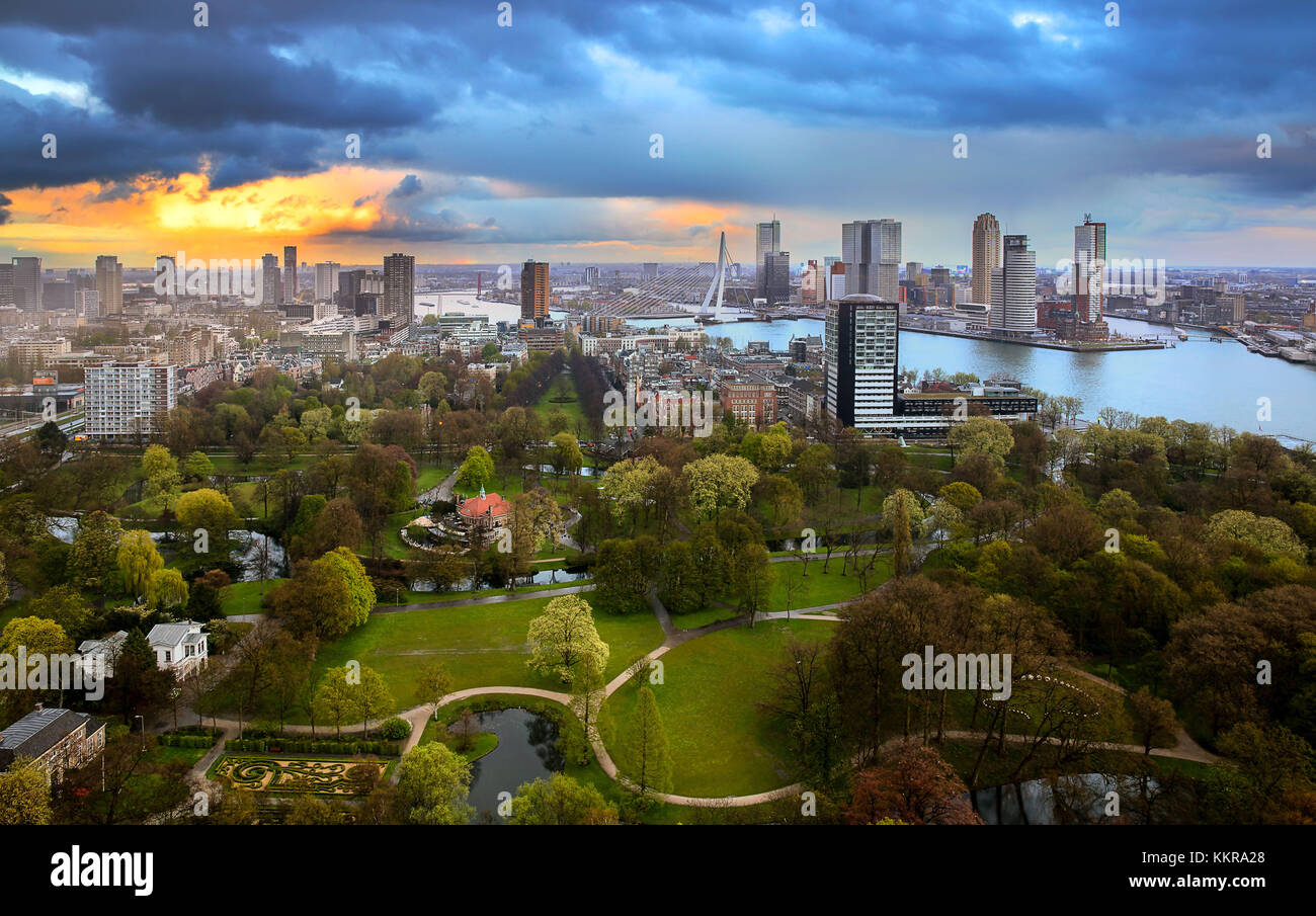 Rotterdam Is A City In The Netherlands Located In South Holland - Where is the netherlands located
