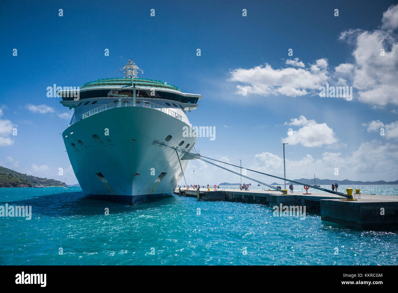 British Virgin Islands Road TownStock Photos and Images