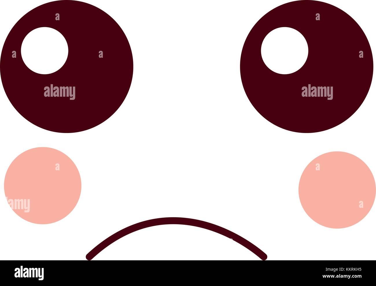 Sad face emoji icon image stock vector art illustration vector sad face emoji icon image buycottarizona Gallery