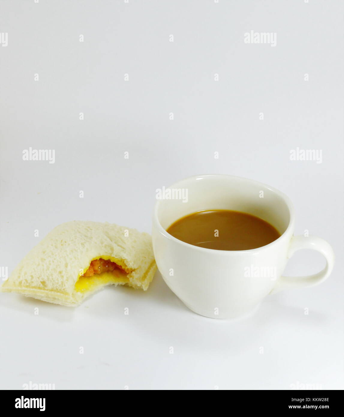 how to make coffee with milk and water
