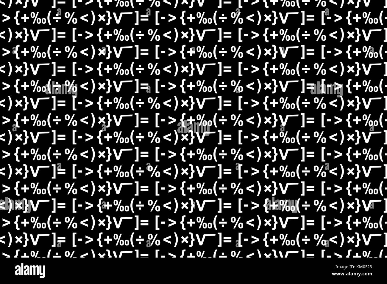 Mathematical symbols stock photos mathematical symbols stock mathematical symbols black and white vector pattern stock image buycottarizona Images