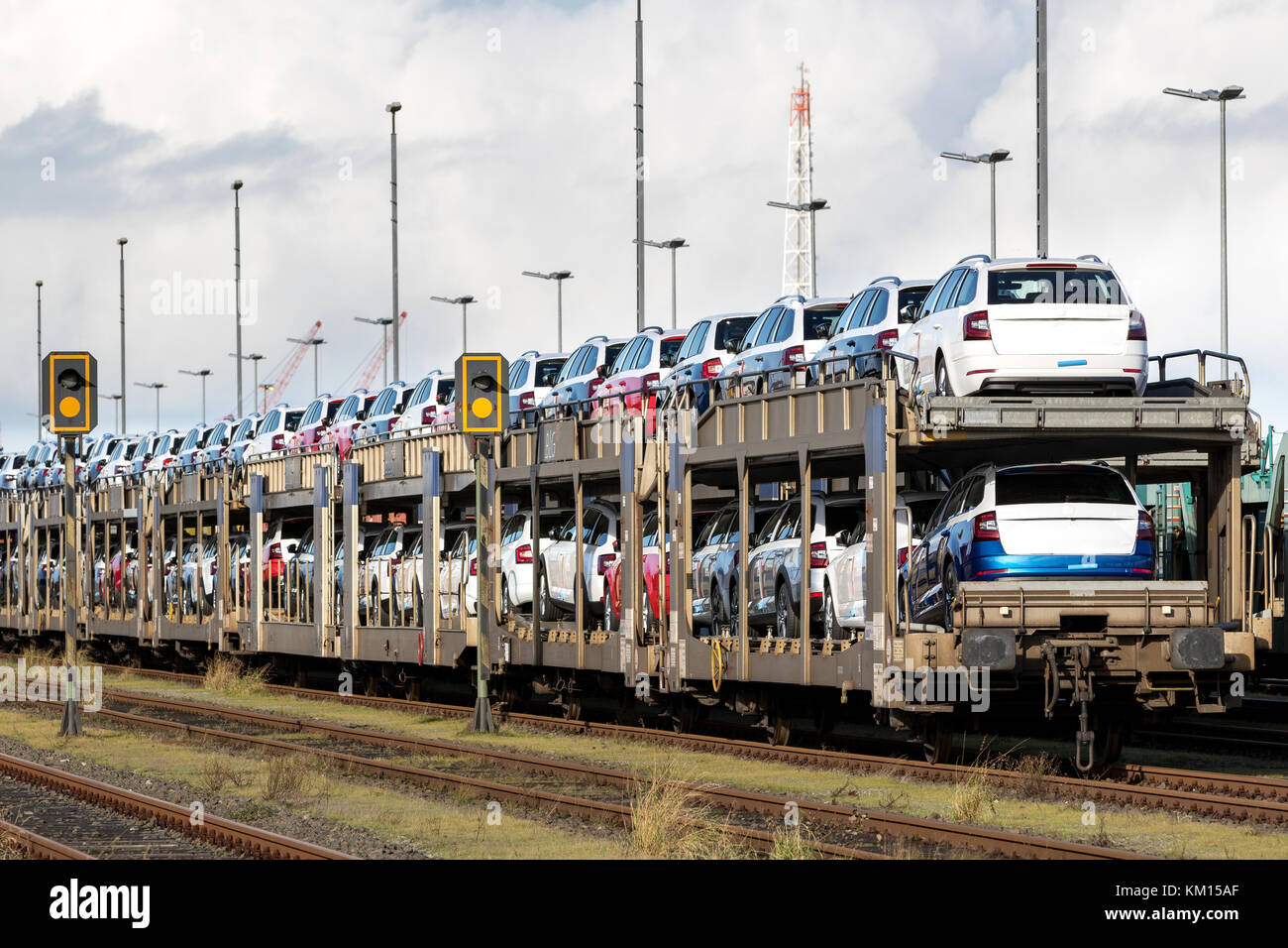 Railway Logistics Stock Photos Railway Logistics Stock