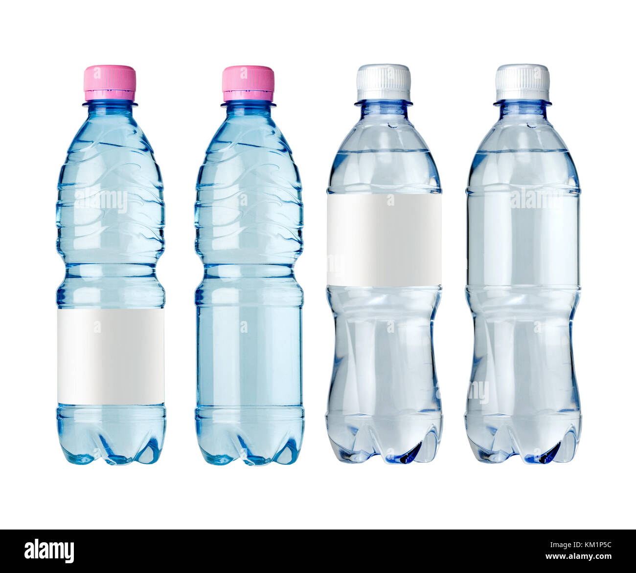 Pure water label stock photos pure water label stock images alamy water bottles with blank label isolated on white stock image biocorpaavc
