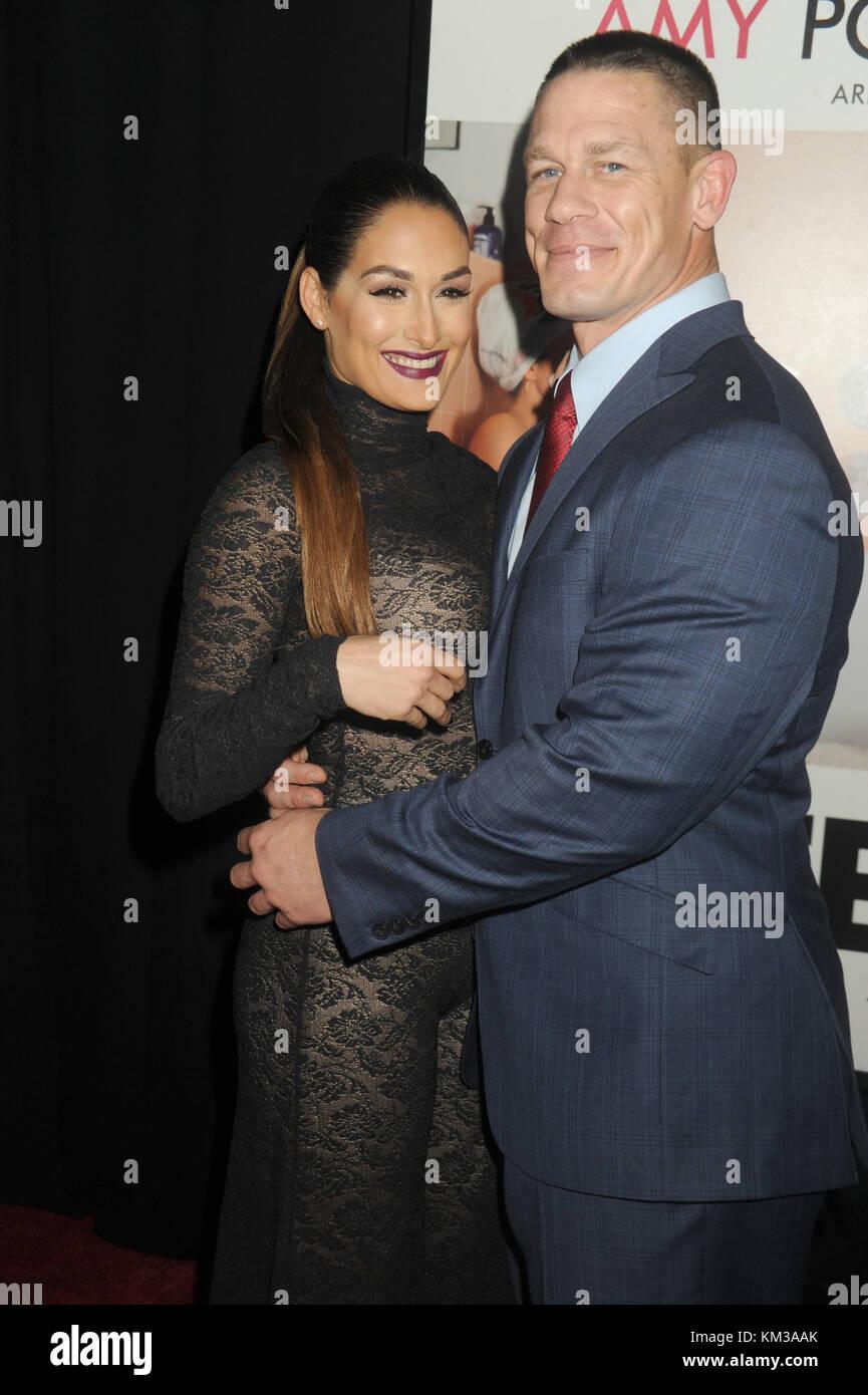 NEW YORK, NY - DECEMBER 08: Nikki Bella, John Cena attends the Stock ...