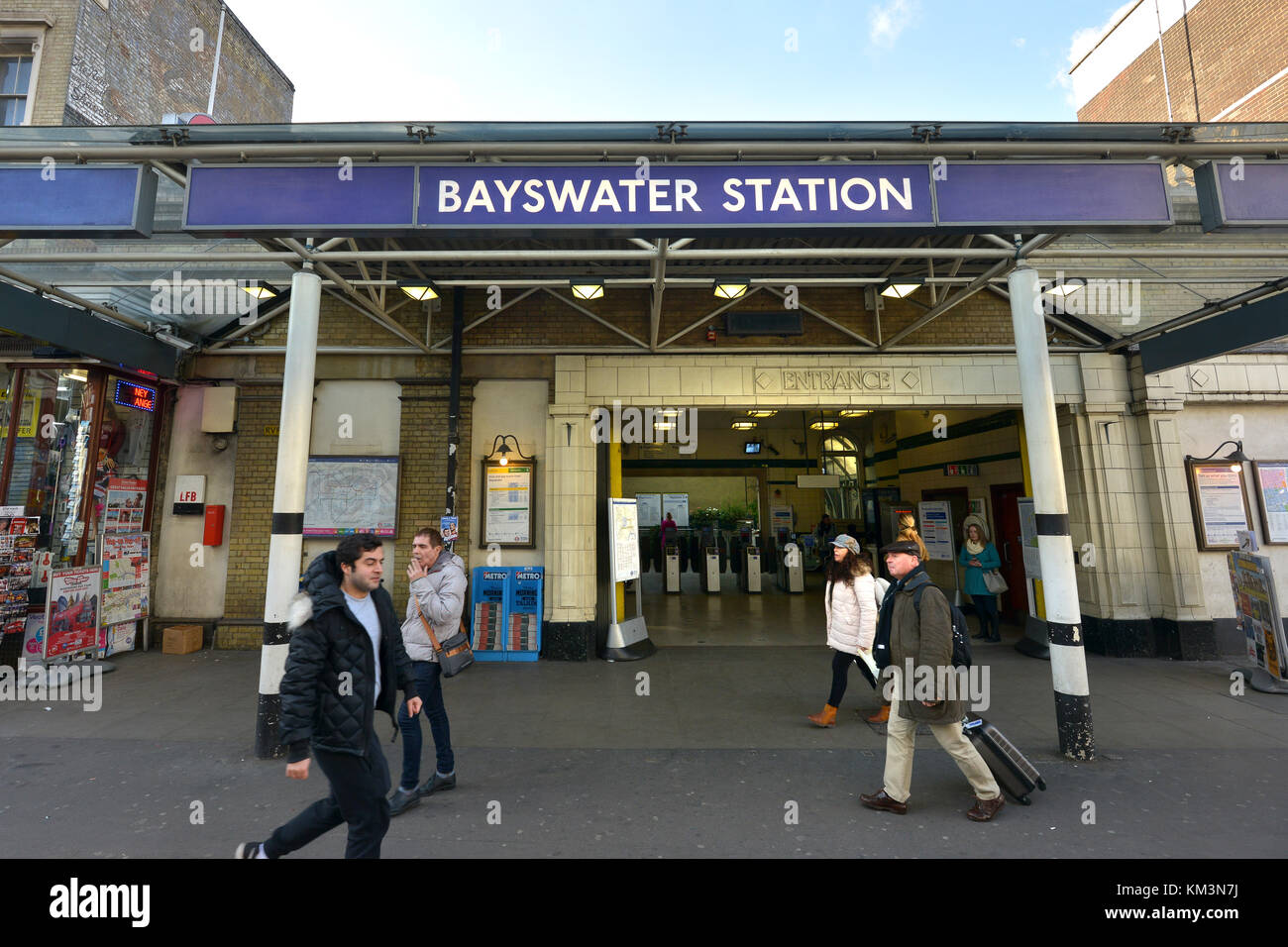 Bayswater Station Stock Photos Amp Bayswater Station Stock