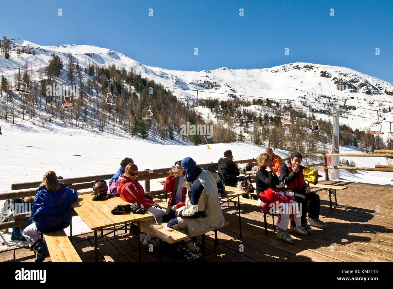 Pila Aosta Valley Italy Stock Photo Royalty Free Image 167271782