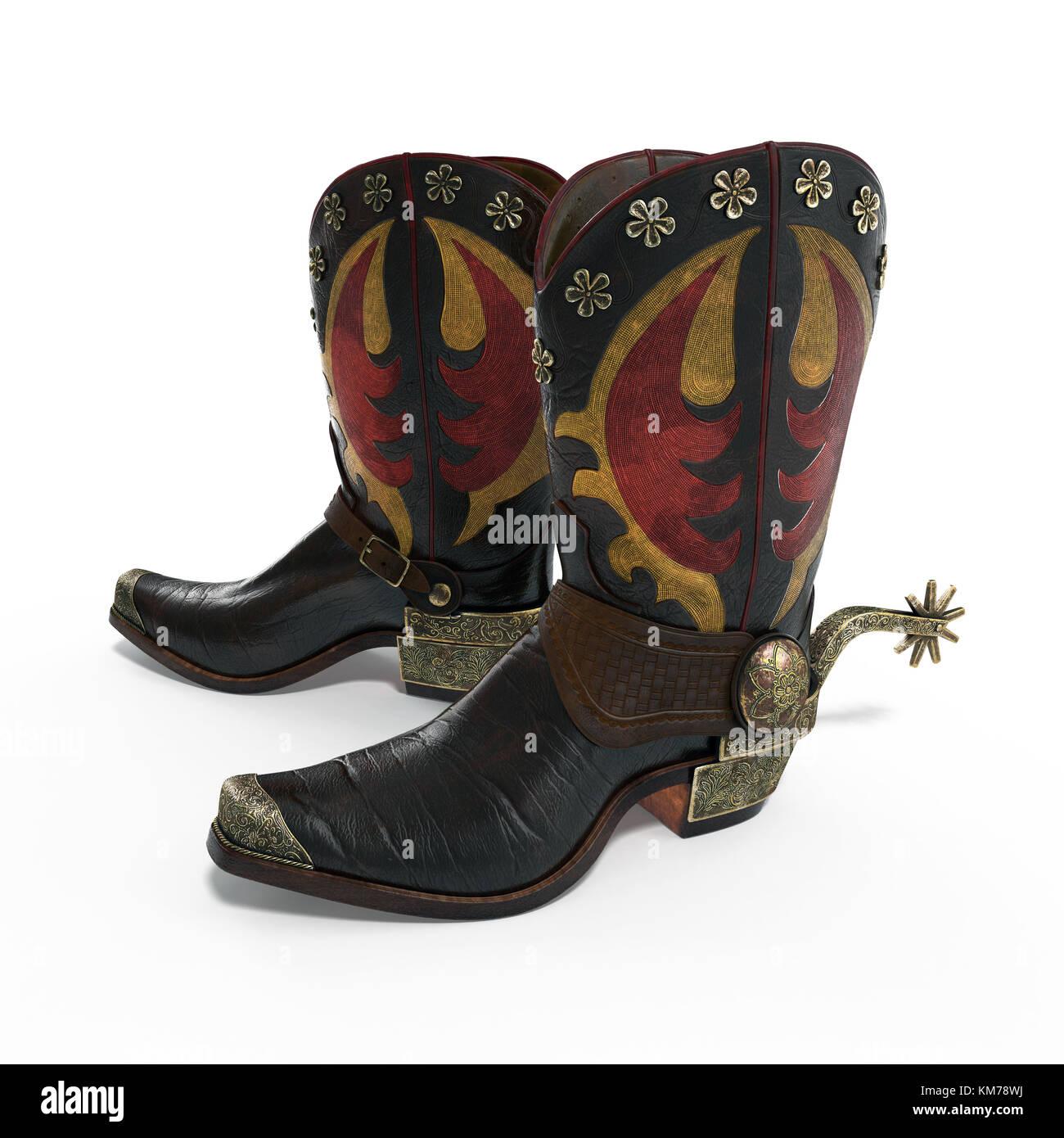 Cowboy Boots Spurs Stock Photos Amp Cowboy Boots Spurs Stock