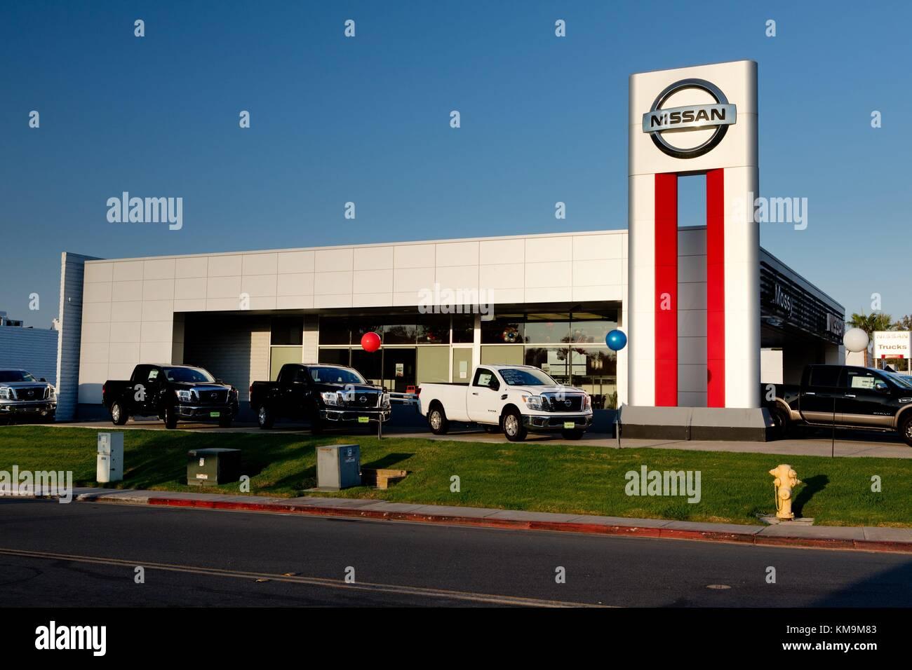 Mossy Nissan Kearny Mesa Car Dealer In San Diego, In August 2017. | Usage  Worldwide