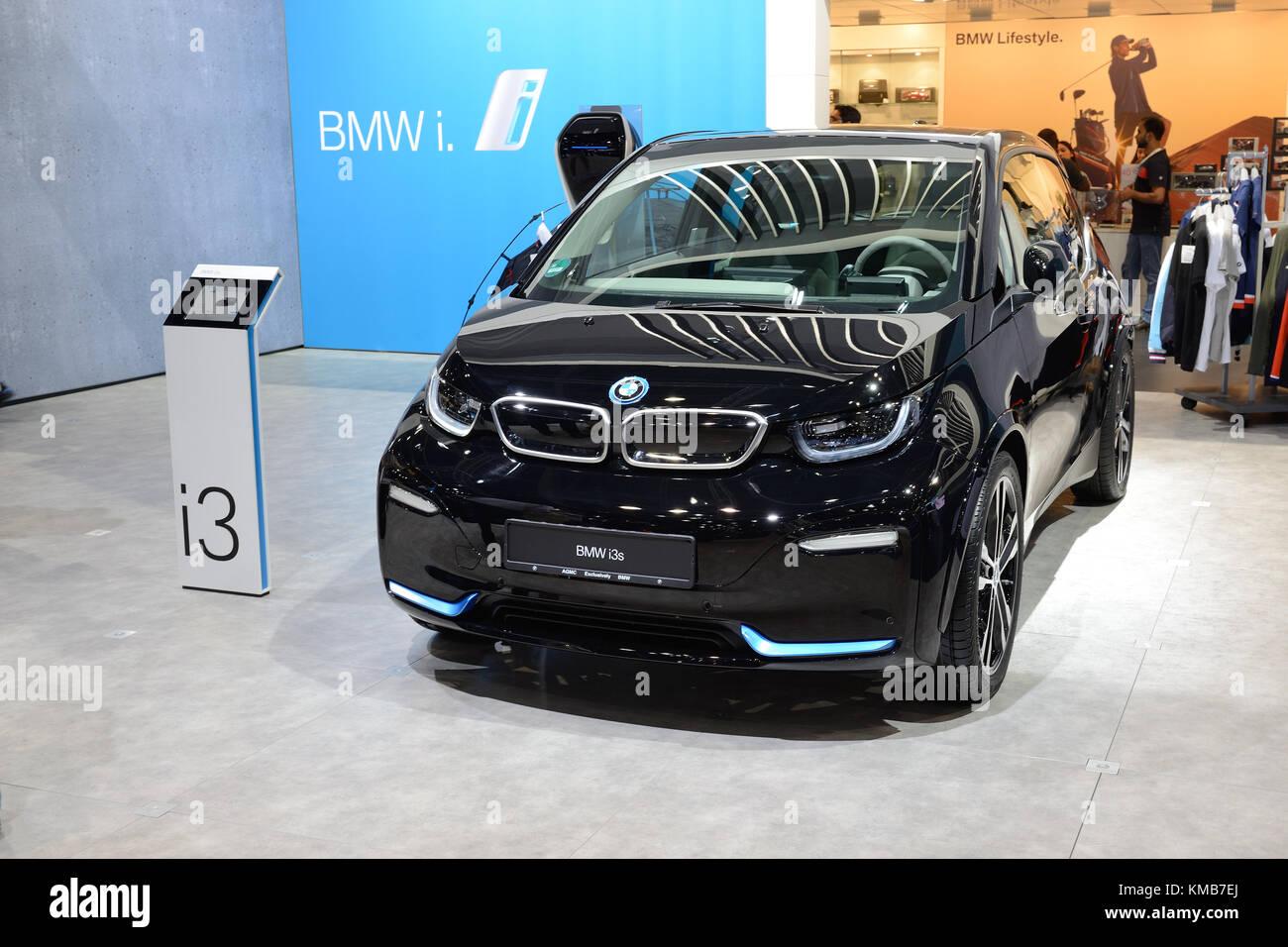 Dubai Uae November 18 The Bmw I3s Electric Car Is On Dubai Motor