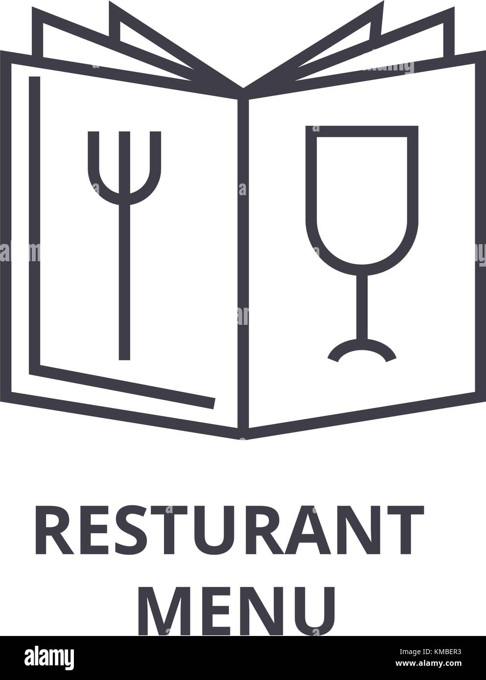 restaurant outline