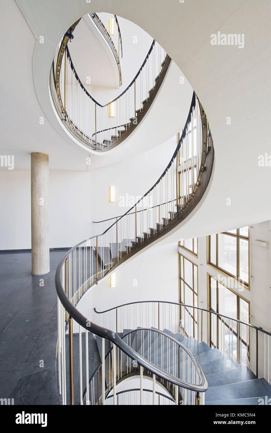 wendeltreppe hannover messing brass stairs gerhard graubner