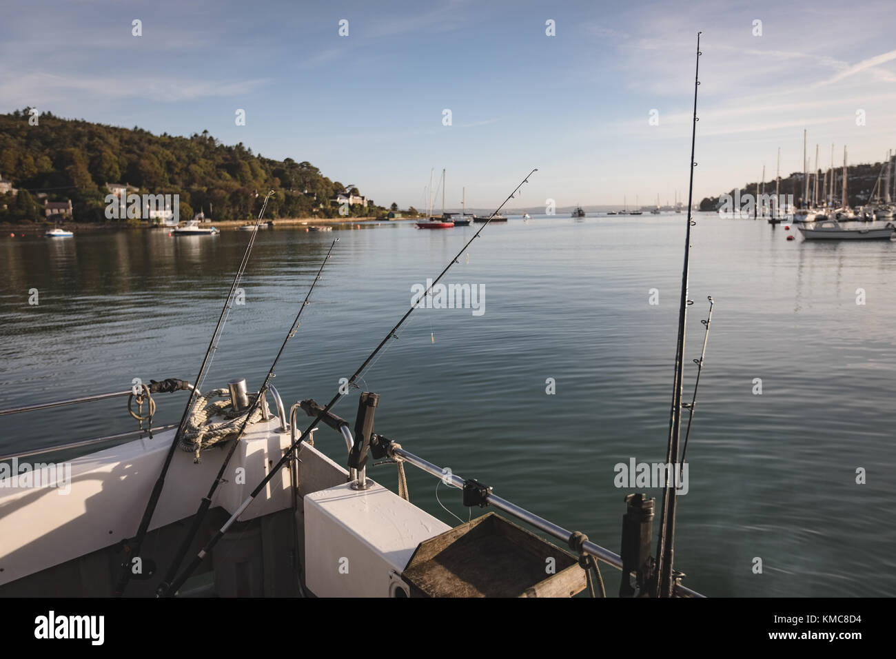 Fishing deck stock photos fishing deck stock images alamy for Fishing deck boats