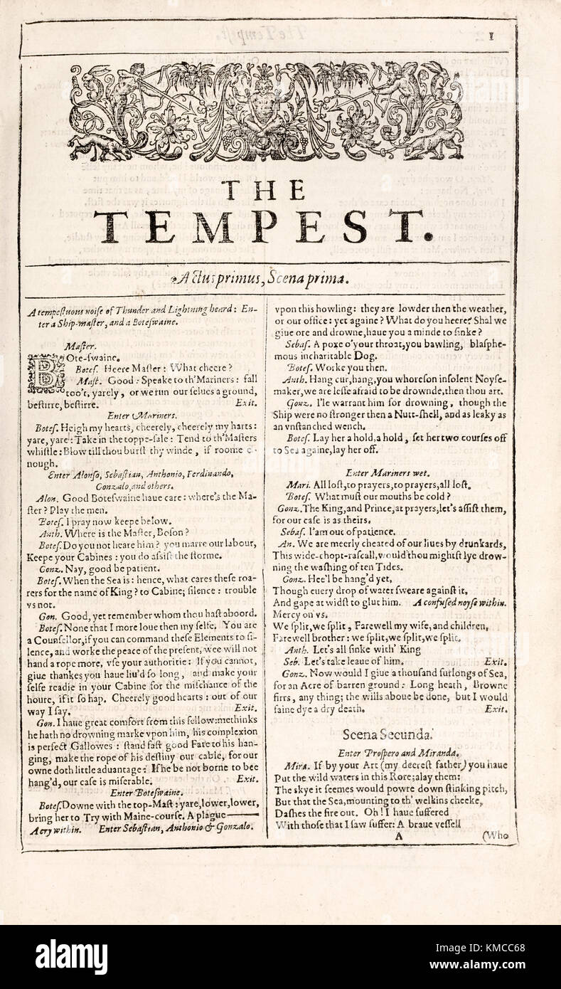 the epilogue of the tempest by william shakespeare The tempest william shakespeare buy share buy  home literature notes  the epilogue is often used to tie up loose ends and clarify any issues that remain.