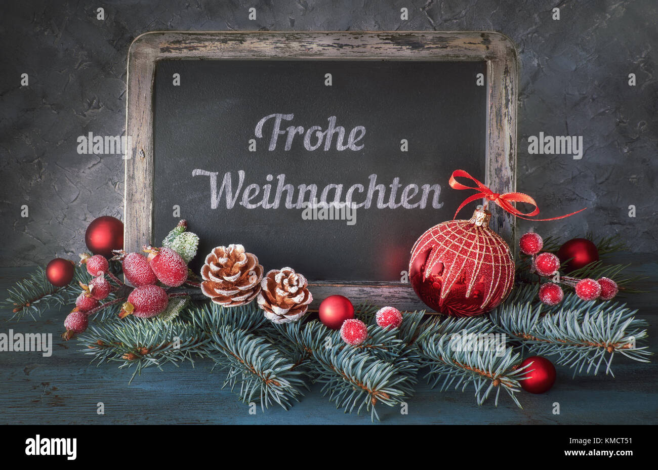 merry christmas in german stock photos merry christmas. Black Bedroom Furniture Sets. Home Design Ideas