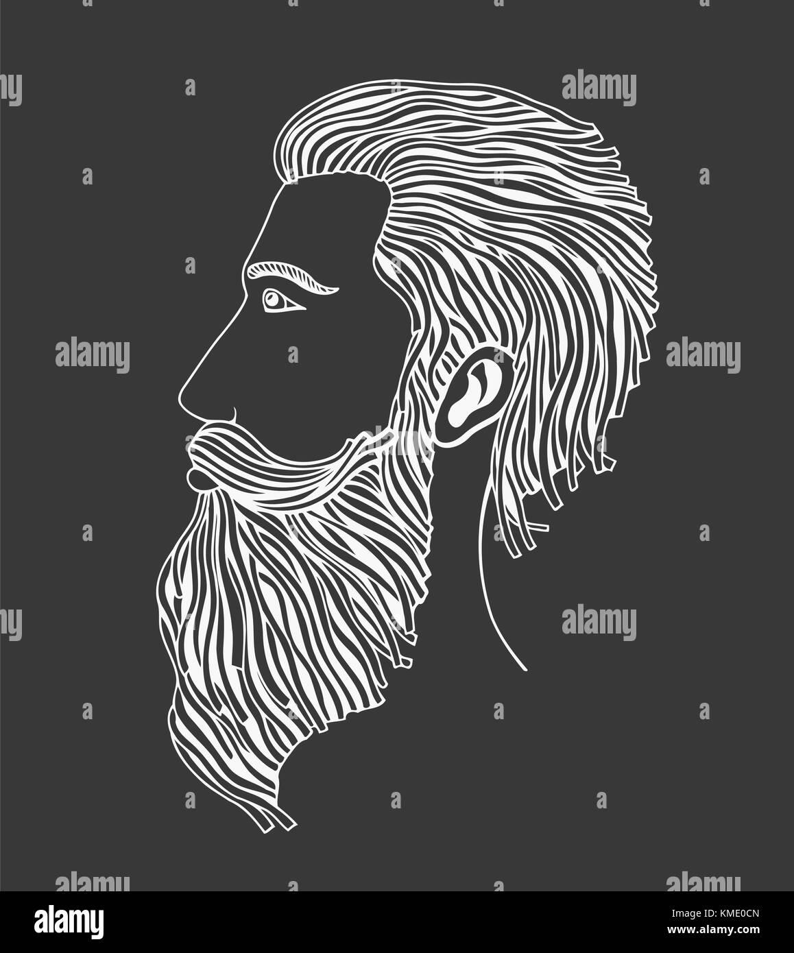 male beard drawn stock photos amp male beard drawn stock