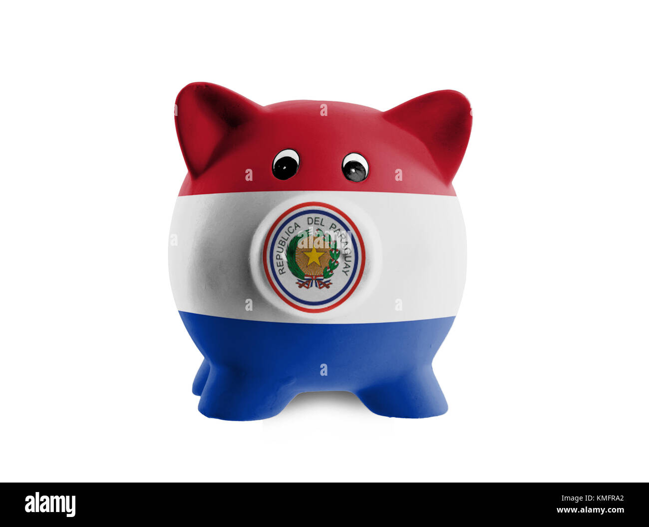 Paraguay coin stock photos paraguay coin stock images alamy ceramic piggy bank with painting of national flag paraguay stock image buycottarizona