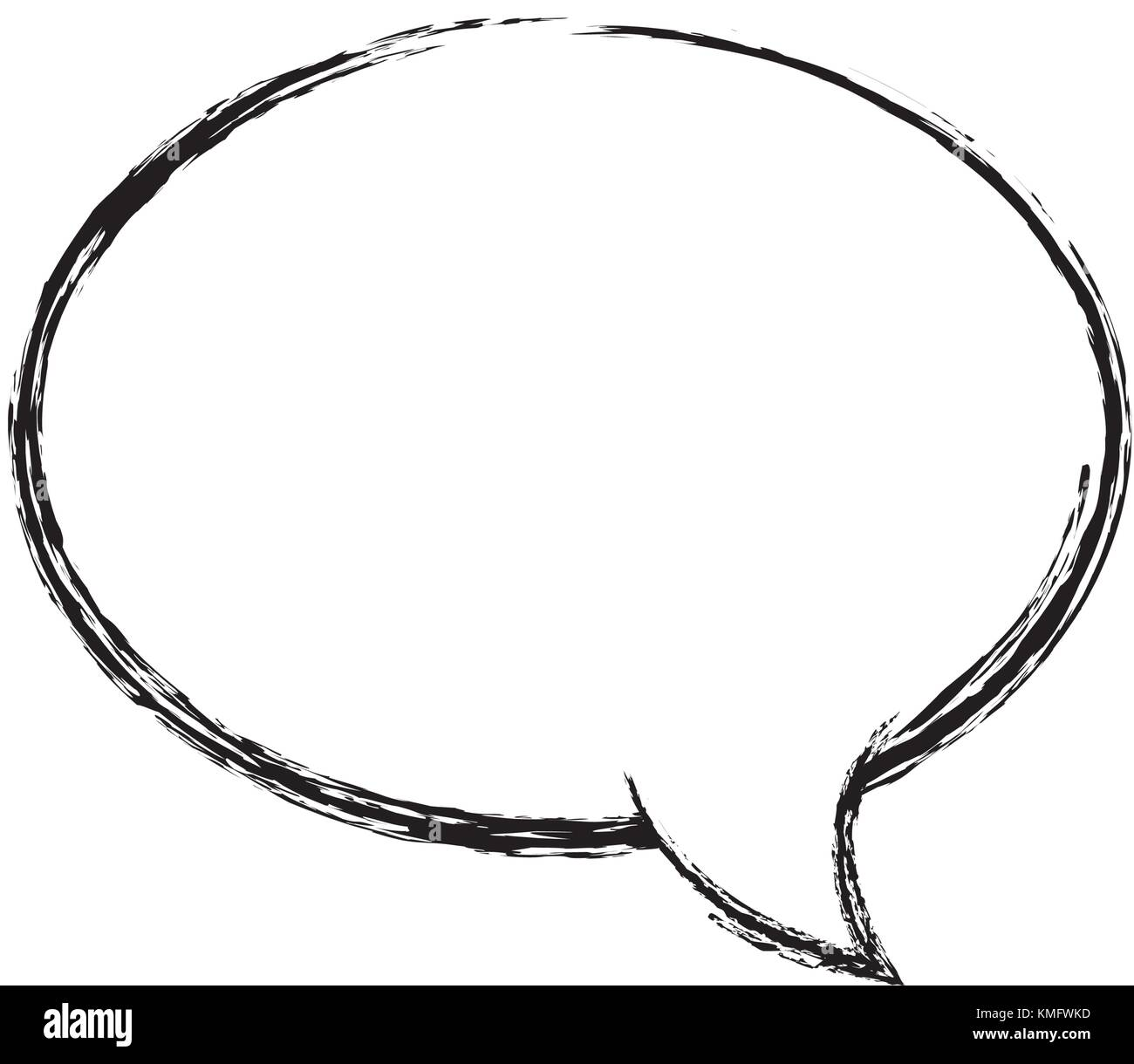 figure oval chat bubble art text message stock vector art