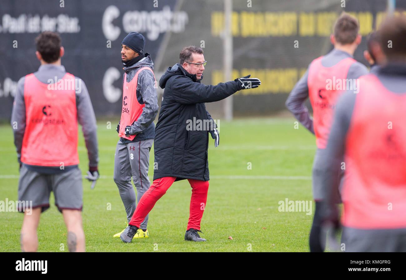 Hamburg Germany 7th Dec 2017 The New Head Coach Of The German 2