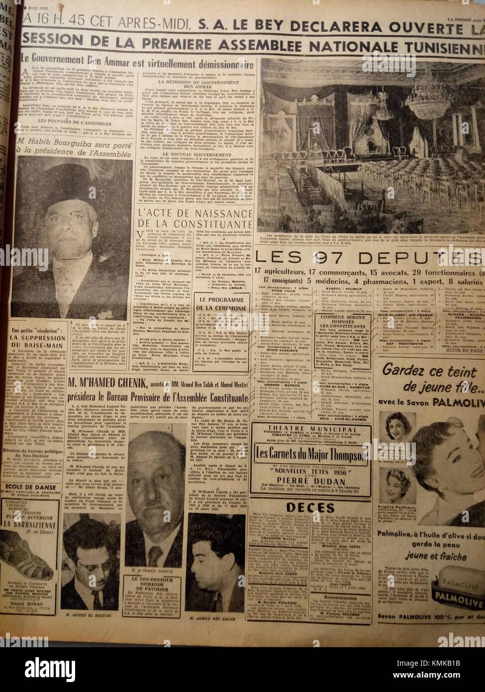 la presse tunisienne