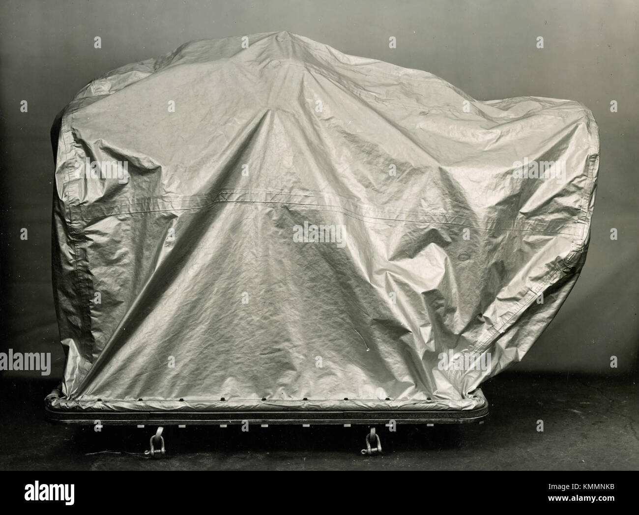A carefully covered Rolls-Royce aviation engine UK 1940s & A carefully covered Rolls-Royce aviation engine UK 1940s Stock ...