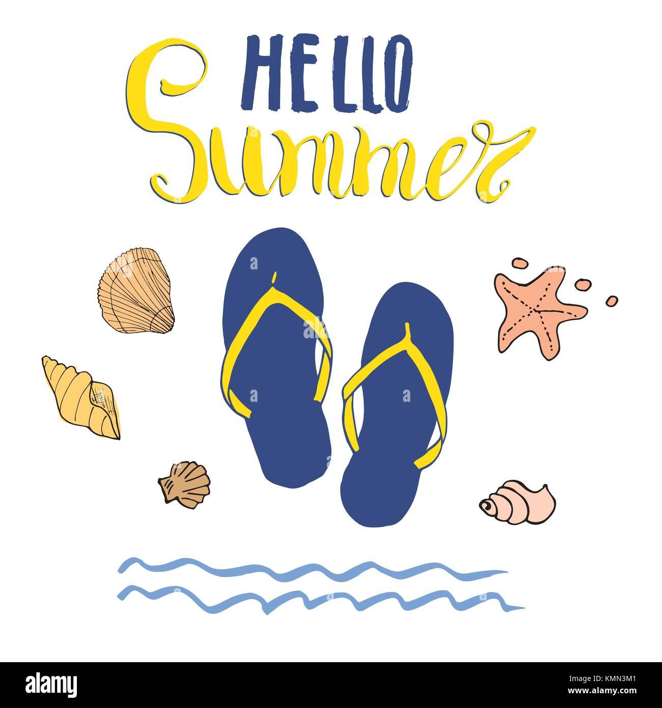 dfd3cb36579d5 Summer Vector Illustration