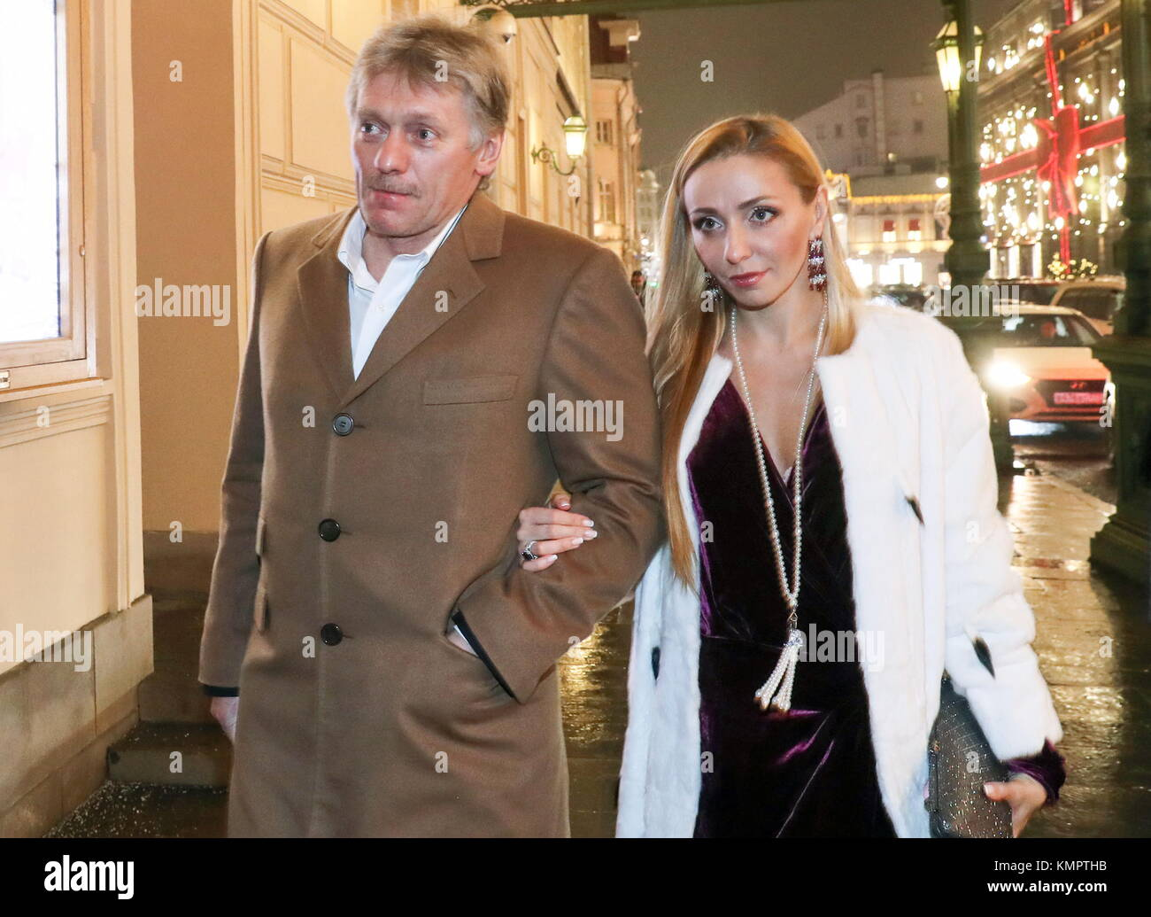 Tatyana Navka and Dmitry Peskov declassified their novel on 01.12.2014 17
