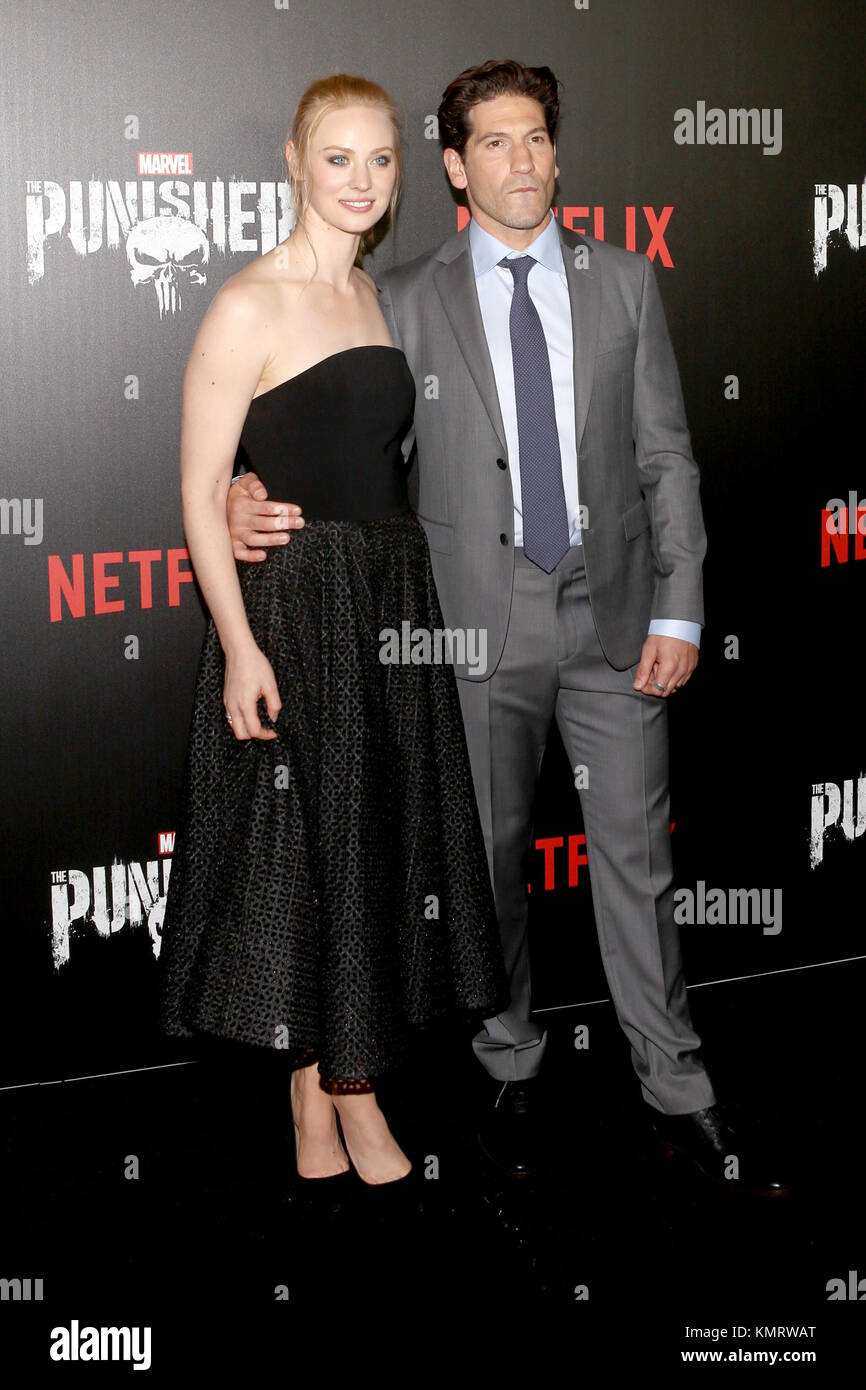 New York Premiere Of Marvel S The Punisher At Amc Loews 34th