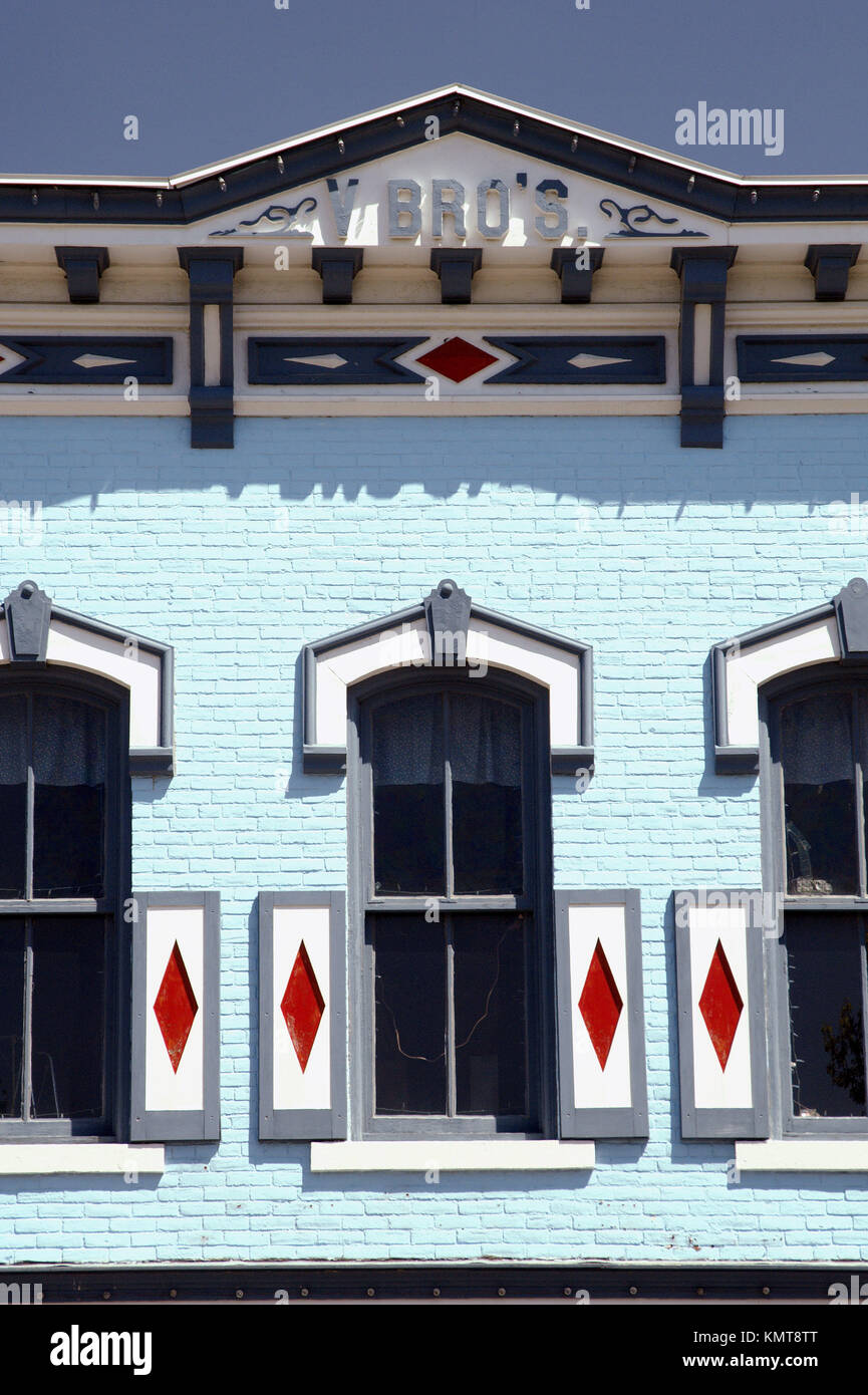 An Historical Dutch Building Front In Pella Iowa Usa Stock Photo