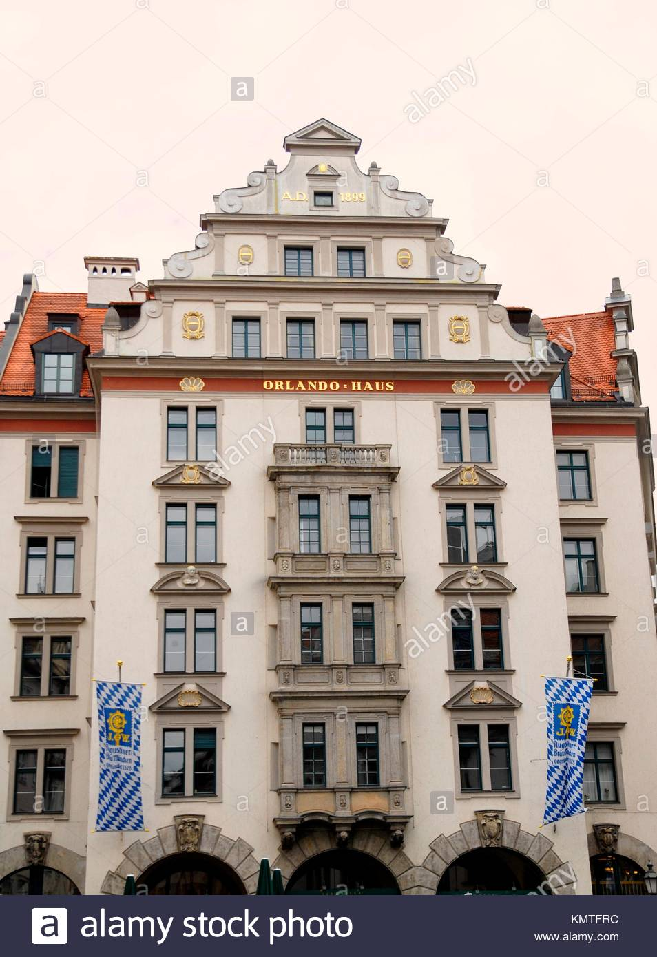Orlando Haus orlando haus opposite hofbraeuhaus munich bavaria germany europe