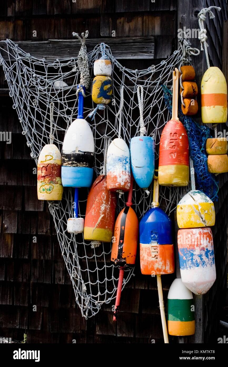 Fishing Shack Rockport Massachusetts Stock Photos