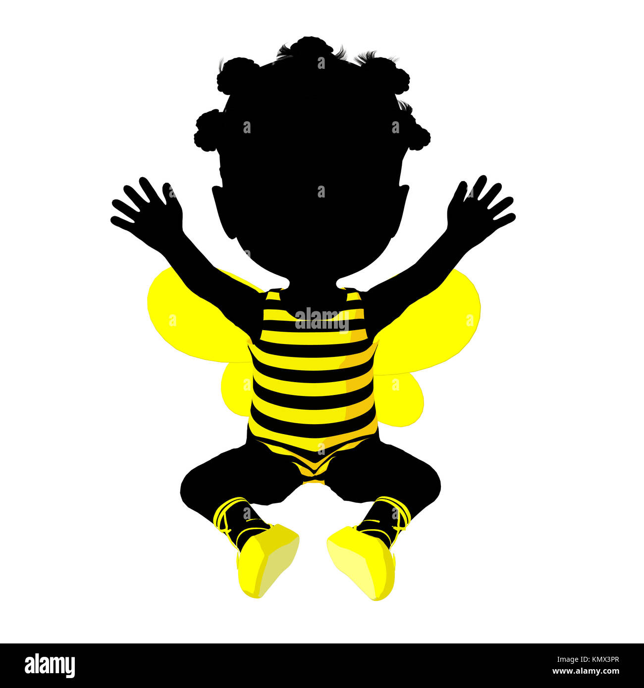 American bumble bee stock photos american bumble bee stock little african american bumble bee girl on a white background stock image biocorpaavc