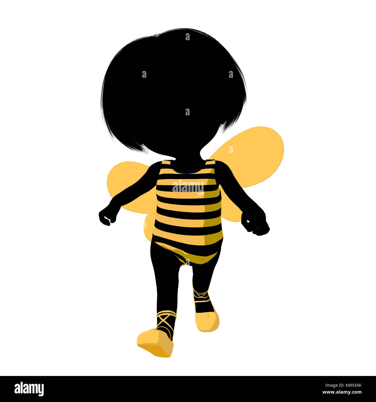 Little bumble bee girl on a white background stock photo royalty little bumble bee girl on a white background biocorpaavc