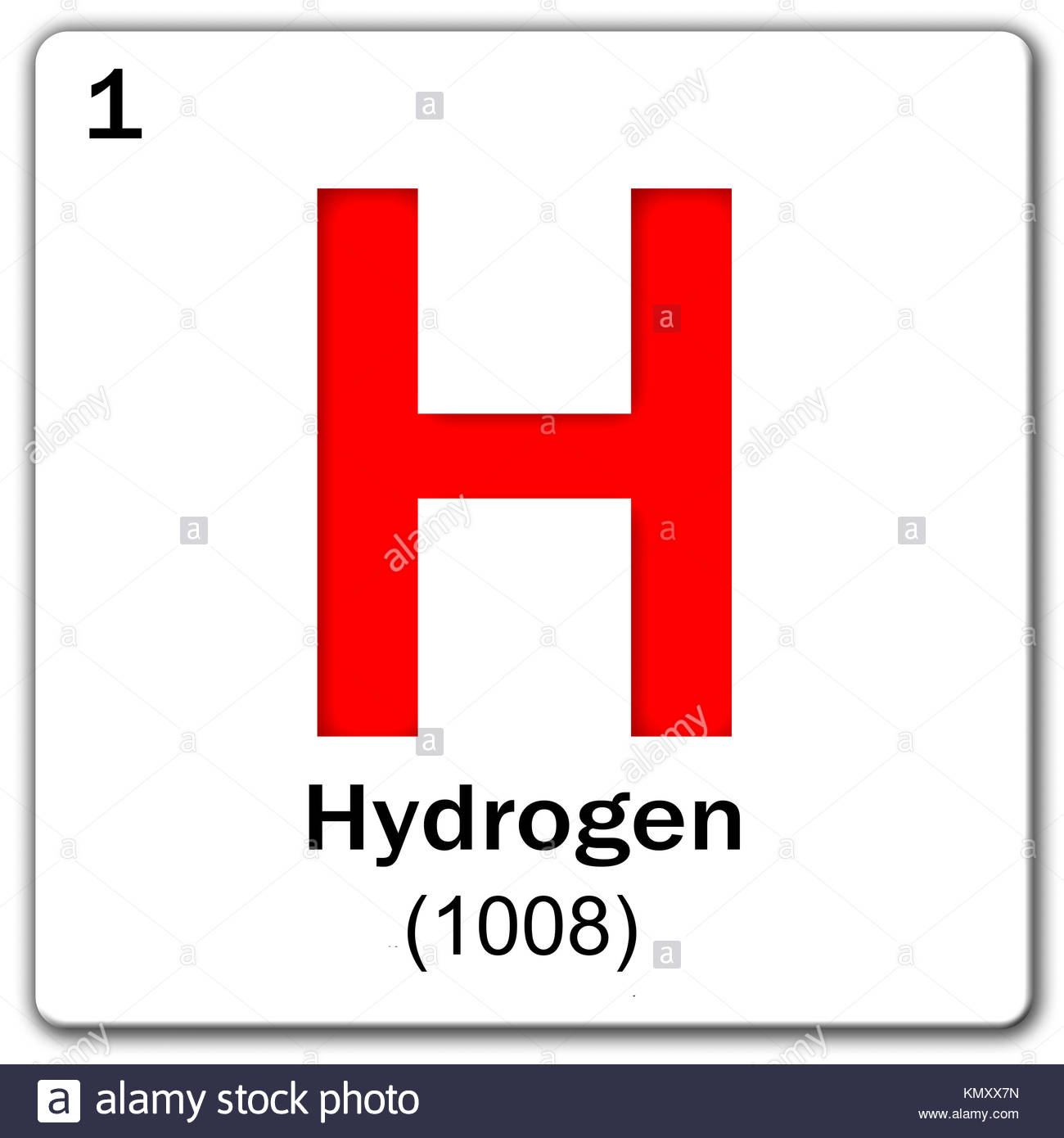 Periodic table hydrogen stock photos periodic table hydrogen digital illustration chemical element hydrogen stock image gamestrikefo Images