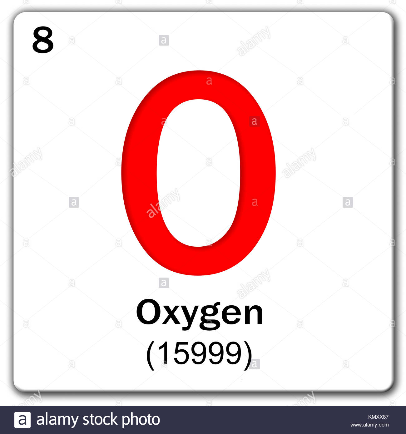 Periodic table elements oxygen stock photos periodic table digital illustration chemical element oxygen stock image biocorpaavc